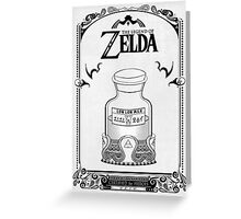 Zelda legend Lon lon Milk Greeting Card