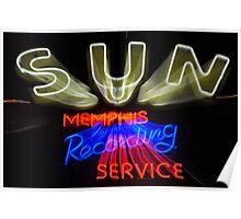 Sun Studio Sign Poster