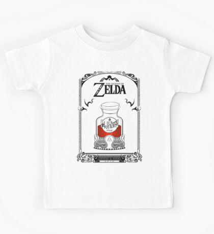 Zelda legend Red potion Kids Tee