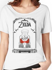 Zelda legend Red potion Women's Relaxed Fit T-Shirt