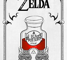 Zelda legend Red potion by artetbe