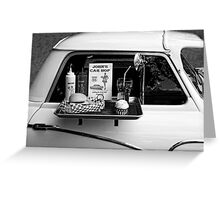 Drive-in Greeting Card