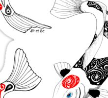 Fish carp koi (3) Sticker