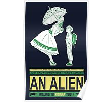 Alien candy Poster
