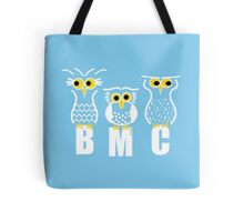 BMC Owls - Light Blue Tote Bag