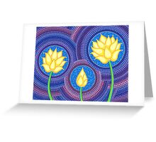 Dreamy Lotus Family Greeting Card