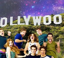 Teen Wolf Hollywood Poster by jordams124