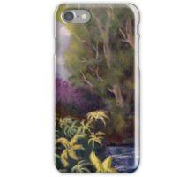 Riverside Flowers iPhone Case/Skin