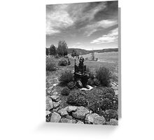Viet Nam Memorial Statue Greeting Card