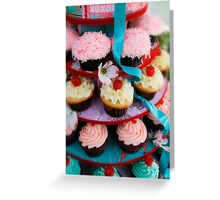 Let Them Eat Cupcakes Greeting Card
