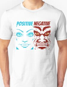positive and negative Unisex T-Shirt
