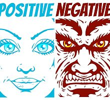 positive and negative by SIR13