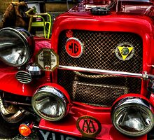 Vintage MG by Andrew Pounder