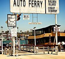 Balboa Island Ferry by Rick Champlin