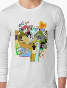 Drippy Shadeprint Long Sleeve T-Shirt
