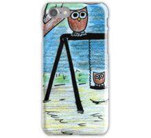 Playground Owls iPhone Case/Skin