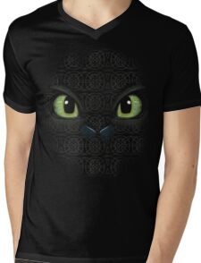 Heart of a chied, soul of a dragon Mens V-Neck T-Shirt