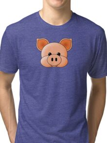 Piggy Tri-blend T-Shirt