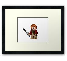 LEGO Bilbo Baggins Framed Print