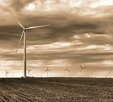 Turbines on the Northern Plains by hastypudding