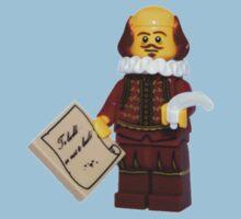 LEGO William Shakespeare One Piece - Short Sleeve