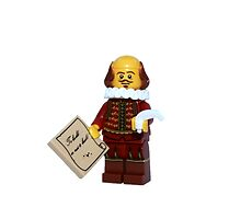 LEGO William Shakespeare by jenni460