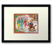 Blow Your Horn, Baby! Framed Print