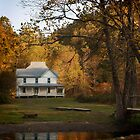 Caldwell House, Cataloochee Valley, North Carolina by Chas Bedford
