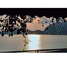 Bathed In Evening Light-  Corfu Photographic Print