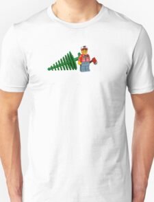 LEGO Lumberjack with a Tree Unisex T-Shirt