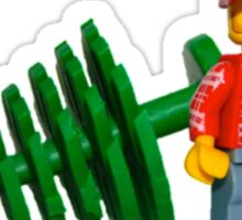 LEGO Lumberjack with a Tree Sticker