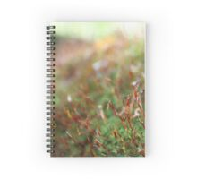 Moss with red stems - 2011 Spiral Notebook