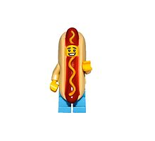 LEGO Hotdog Guy by jenni460