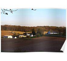 Waukesha County Farmland Poster