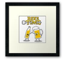 Time For Beer Framed Print