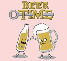 Time For Beer One Piece - Short Sleeve
