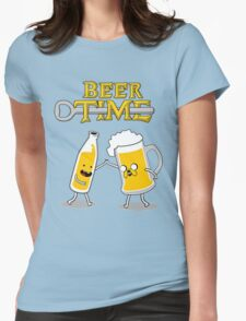 Time For Beer Womens Fitted T-Shirt