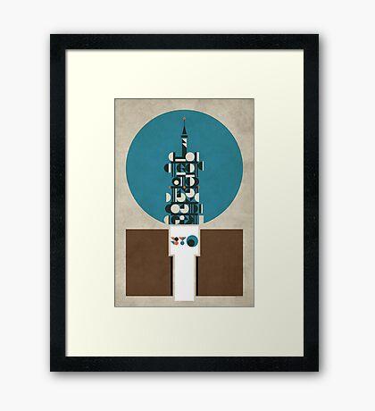 Birmingham BT Tower Framed Print