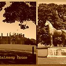 Dalmeny House & King Tom by ©The Creative  Minds