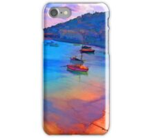 Mousehole Harbor, Cornwall - UK iPhone Case/Skin