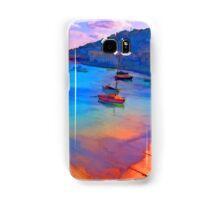 Mousehole Harbor, Cornwall - UK Samsung Galaxy Case/Skin