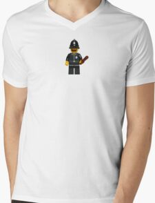 LEGO Police Constable Mens V-Neck T-Shirt