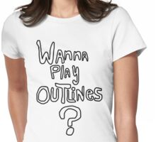 Outlines Womens Fitted T-Shirt