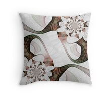 Equal Opposition Throw Pillow
