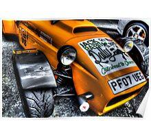 Rally Car Poster