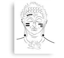 The Not So Modern Buddha Canvas Print