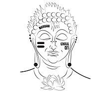 The Not So Modern Buddha Photographic Print