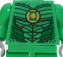 LEGO Green Lantern Sticker