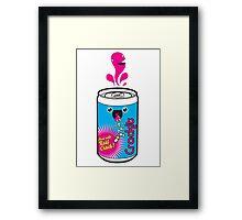 Crackit Soda Framed Print