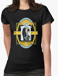 king penguin Womens Fitted T-Shirt